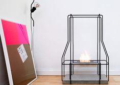 freestanding bioethanol fireplace