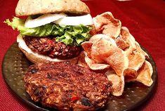 Best Vegan Black Bean Burgers   EatPlant-Based.com Vegan Dinner Recipes, Vegan Dinners, Whole Food Recipes, Vegetarian Recipes, Cooking Recipes, Cooking Games, Healthy Cooking, Healthy Eats, Plant Based Whole Foods