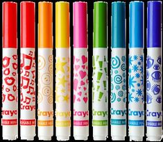 Crayola #1990s/ I still have them and they still work