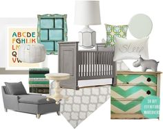 #Nursery #daybydaydesign how cute is this look? I LOVE IT!!!!
