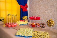 Festa de Aniversário da Branca de Neve, Inspiração, Snow White Theme Party inspiration Stephânia de Flório www.stephaniadeflorio.com.br