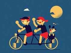 Enjoy the ride WIP (BI '16) by AQ Studio #Design Popular #Dribbble #shots