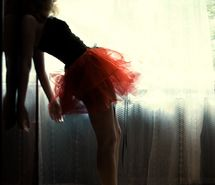 Photography - red tutu
