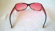 Vintage Brillen - Kultige Chanel Brille mit rosa Gläsern - ein Designerstück von Grossmutters_Lieblinge bei DaWanda