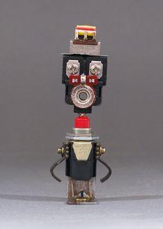 Robot Sculpture  Bart Bot