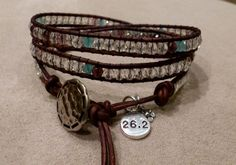 Visit my website for more bracelets, I can customize it to fit your style!  runwraps.net