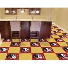FSU Florida State University Seminoles Carpet Tiles Flooring