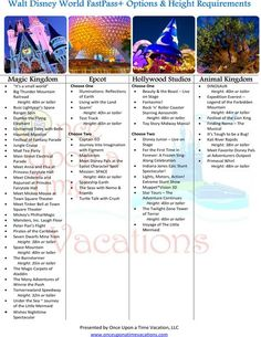 Make the most of your #FastPass+ experiences and #WaltDisneyWorld . Printable available as well!