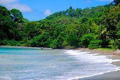 Matapalo beach, located in the exotic Osa Peninsula of Costa Rica. Great point for surfing too. www.crtraveler.com