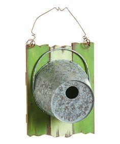 Love this Rustic Bucket Birdhouse on #zulily! #zulilyfinds