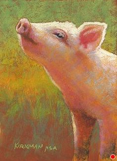 Little Pink by Rita Kirkman Pastel ~ 7 x 5 inches