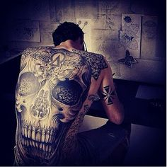 Tattooculturemagazine: Tattoo By Maud Dardeau. Mauddardeau...