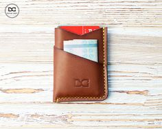 Minimalist wallet, mens slim wallet, slim wallet, slim leather wallet, minimal wallet, personalized wallet, simple wallet, thin wallet