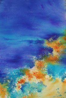 Art by Judith Farnworth: Brusho Paintings