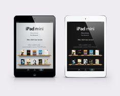 Ressources – L'iPad Mini en PSD
