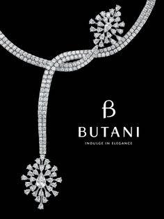 Butani Jewellery. A necklace of brilliance and blaze of celestial light.