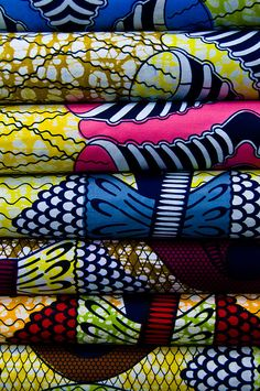 Beautiful African textiles