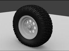 제작 과정 2 - 타이어 바퀴