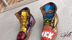 3438d74cb8af 90 s Custom Timberland boots