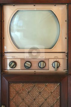 Buy Vintage tv set by njnightsky on PhotoDune. A Vintage tv set from 1949 Video Vintage, Vintage Tv, Vintage Antiques, Vintage Images, Radios, Vintage Television, Television Set, Tvs, Radio E Tv