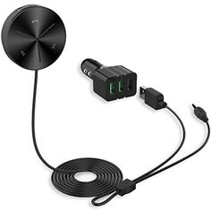 Blackzebra Car Audio Bluetooth 40 Receiver Handsfree Car Kit with 3Port USB Car Charger Builtin Mic Magnetic Base for Car Audio Streaming Sound SystemBlack * You can get additional details at the image link.Note:It is affiliate link to Amazon.