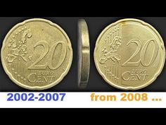Sell Old Coins, Euro Coins, Coin Values, Personalized Items, Rare Coins, Organized Linen Closets, Coins, Play Dough, Money