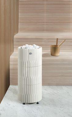 different for a sauna… Portable Steam Sauna, Sauna Steam Room, Sauna Room, Scandinavian Saunas, Electric Sauna Heater, Spa Interior, Interior Design, Outdoor Sauna, Sauna Design