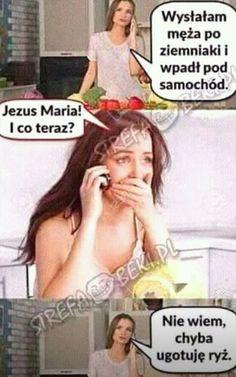 nie ma tu co opisywac # Losowo # amreading # books # wattpad Funny Images, Funny Photos, Cool Photos, Hahaha Hahaha, Polish Memes, Weekend Humor, Funny Mems, Text Memes, Funny True Quotes