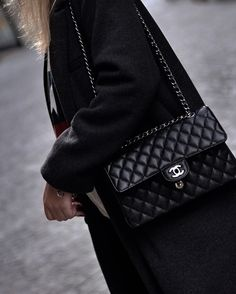 #chanel #chanelbag Fashion Still Life, Chanel Classic Flap, Cloth Bags, Luxury Bags, Beautiful Bags, Clothing Items, Bag Accessories, Purses And Bags, Fashion Brands