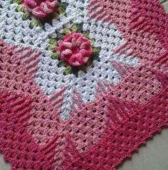 New Crochet Doilies Unique Projects Ideas Crochet Afghans, Crochet Pillow, Crochet Squares, Crochet Granny, Crochet Baby, Double Crochet, Puff Stitch Crochet, Crochet Cowl Free Pattern, Crochet Motif