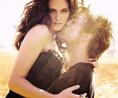 Robert Pattinson and Kirsten Stewart. My favorite picture of them EVER!