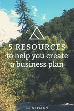 Thinking of starting your own small business? Check out these 5 Resources to create a business plan. Click through to learn how to make a business plan!