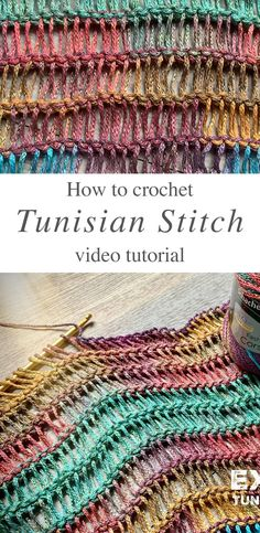 Tunisian Crochet Stitches, Crochet Dishcloths, Crochet Stitches Patterns, Knit Or Crochet, Stitch Patterns, Crochet Hooks, Beginner Crochet Projects, Crochet Videos, Baby Snoopy
