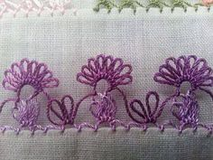 This Pin was discovered by Hkn Needle Tatting, Needle Lace, Sewing Basics, Sewing For Beginners, Easy Sewing Projects, Sewing Hacks, Lace Patterns, Sewing Patterns, Crochet Unique