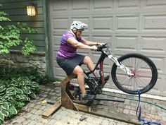 The manual is a useful skill for lofting your front wheel over an obstacle. Yes, lofting as opposed to lifting. Once you know how to manual you will start to see the trail completely differently.