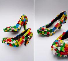 Lego shoes - Halloween idea
