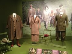 Costumes Of Downton Abbey - Winterthur Museum - Dressing For The Hunt