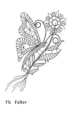 Архив альбомов Bobbin Lace Patterns, Textile Patterns, Embroidery Patterns, Bobbin Lacemaking, Lace Art, Cutwork Embroidery, Fillet Crochet, Crochet Butterfly, Victorian Lace