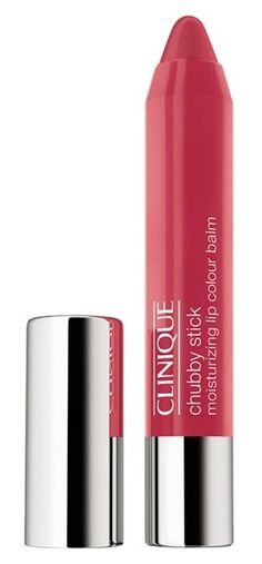 The perfect low-maintenance, sheer lip color: Clinique Chubby Stick Moisturizing Lip Color Balm is a super-nourishing balm loaded with mango and shea butters for immediate and long-term moisturization—just what dry, delicate lips need to feel comfortably soft and smooth. Layer the sheer color for darker and more dramatic shades. Love that it rolls up - no sharpening needed!