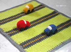 #Crochet car blanket