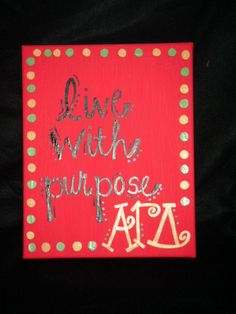 Love Etsy!!! They wil put any sorority on several different canvas paintings!!! Love it!!