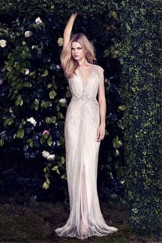 Gorgeous @jennypackham Lilya gown in the 2016 bridal campaign. #SkylarYourPersonalShopper #BridalShopping