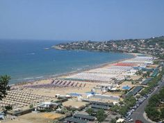 Serapo Beach - Gaeta, Italy (Click on the pic for an article within. It's a cool read)