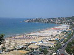 Serapo Beach, Gaeta, Italy