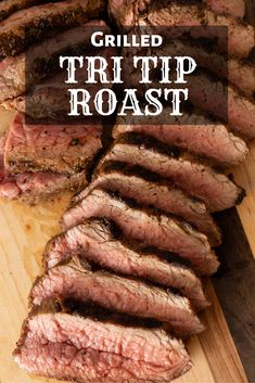 Jun 2019 - This Grilled Tri Tip is the perfect entree for a weekday dinner with your family. It cooks up quickly and results in juicy, tender meat bursting with a rich beef flavor. Traeger Recipes, Grilling Recipes, Meat Recipes, Vegetarian Grilling, Grilling Tips, Healthy Grilling, Barbecue Recipes, Barbecue Sauce, Vegetarian Food