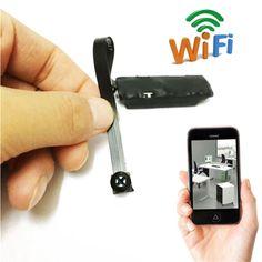 DANIU Mini Wireless Hidden Camera WIFI IP Pinhole DIY P2P Video Camera Micro DVR Support TF Card Audio