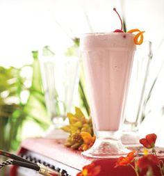 Boozy Manhattan Milk Shake: Recipes: Self.com