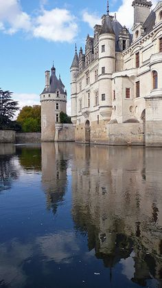 Château de Chenonceau is a French chateau near the small village of Chenonceaux in France. The chateau was built on the site of an old mill on the River Cher, some time  before its first mention in writing in the 11th century.