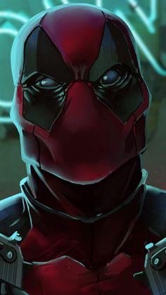 Deadpool 2, with guns, digital art, 720x1280 wallpaper