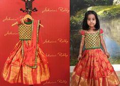 Red Pattu Lehenga - Indian Dresses